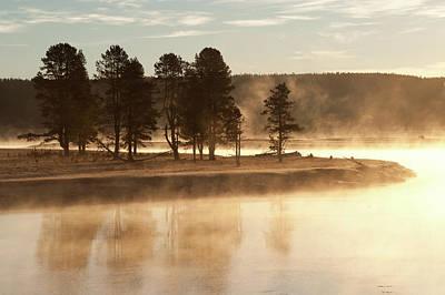 Morning Mists Art Print by Corinna Stoeffl, Stoeffl Photography