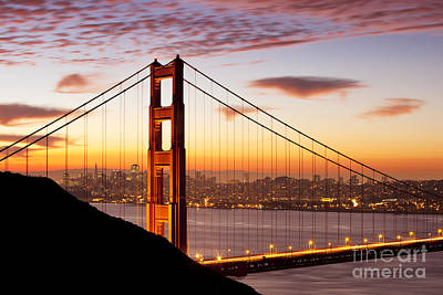 Photograph - Morning Over San Francisco by Brian Jannsen