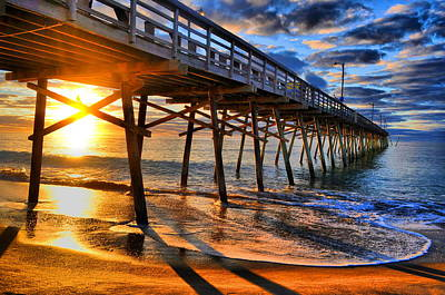 Photograph - Morning Pier by Emily Stauring