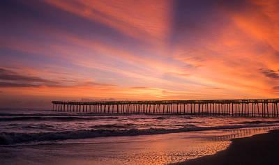 Photograph - Morning Pier  by Joye Ardyn Durham