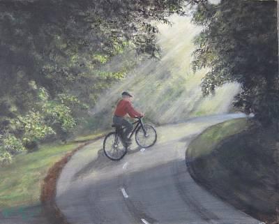 Morning Ride Original by KC Knight