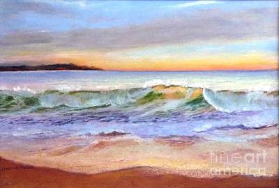 Morning Serenity-phillip Island Art Print by Nadine Kelly