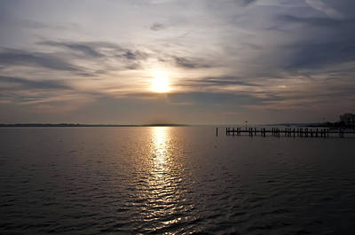 Maryland Photograph - Morning Skies On The Chesapeake by Bill Cannon