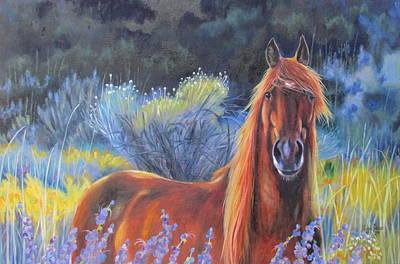 Melody Perez Painting - Morning Splendor by Melody Perez
