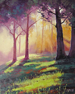 Impressionism Paintings - Morning Sunlight by Graham Gercken