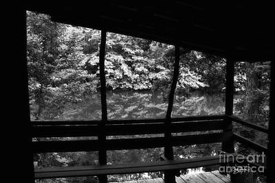 Cabin Photograph - Morning View by Cris Hayes
