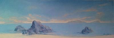 Paul Morgan Painting - Morning Waters by Paul Morgan