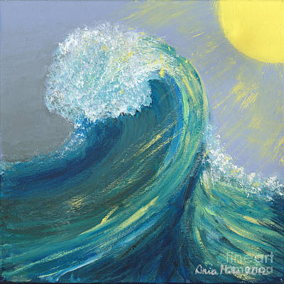 Painting - Morning Wave by Ania M Milo