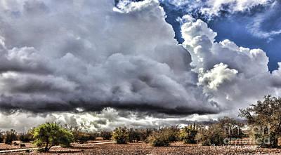 Rabat Photograph - Morocco Clouds II by Chuck Kuhn
