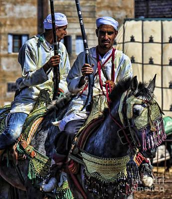 Morocco Dual Art Print by Chuck Kuhn