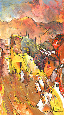 Painting - Morocco Impression 01 by Miki De Goodaboom