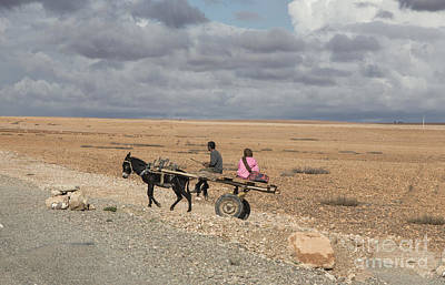 Rabat Photograph - Morocco Transportation by Chuck Kuhn