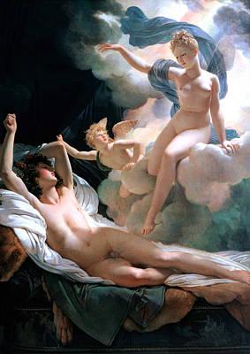 Impressionism Painting - Morpheus And Iris by Sumit Mehndiratta