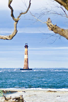 Photograph - Morris Island Lighthouse by Bill Barber
