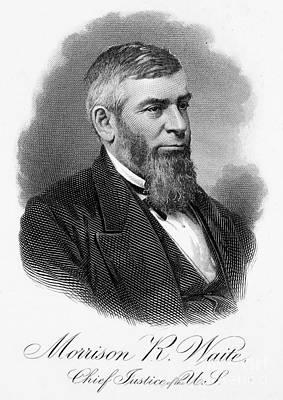 Morrison R. Waite (1816-1888) Print by Granger
