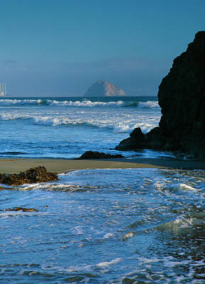 Morro Bay Shoreline II Art Print by Steven Ainsworth