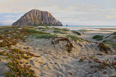 Morro Rock Art Print by Heidi Smith
