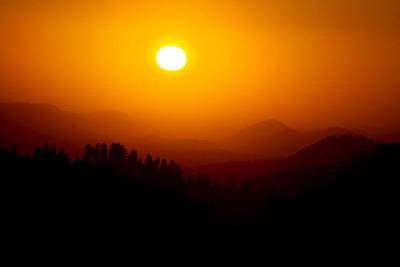 Ashlee Meyer Photograph - Morro Sunset by Ashlee Meyer