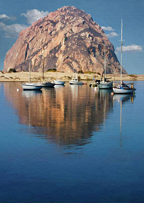 Digital Art - Morrow Reflected by Sharon Foster