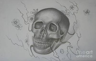 Drawing - Mortality by Iglika Milcheva-Godfrey