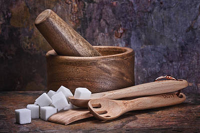 Pestle Photograph - Mortar And Pestle Still Life I by Tom Mc Nemar