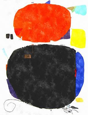Mortaruru With Red Overhead Art Print by Aleksandr Volkov