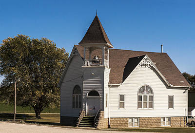 Photograph - Morton Mills Church by Edward Peterson