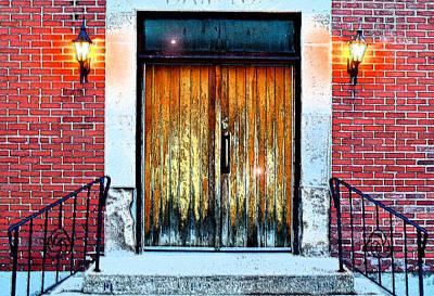 Photograph - Mortruary Entrance by Cyryn Fyrcyd