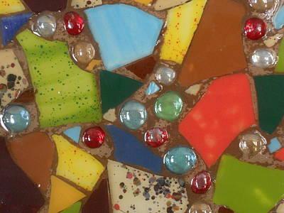 Ceramic Mixed Media - Mosaic Art 2 by Gail Schmiedlin