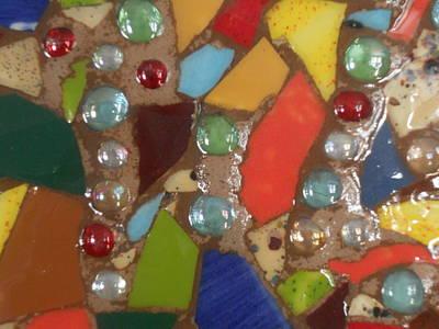 Ceramic Mixed Media - Mosaic Art 3 by Gail Schmiedlin