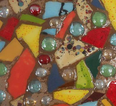 Ceramic Mixed Media - Mosaic Art 5 by Gail Schmiedlin