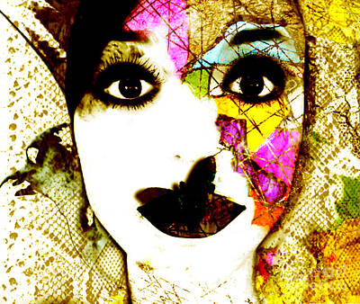 Kunst Mixed Media - Mosaic by Jenn Bodro