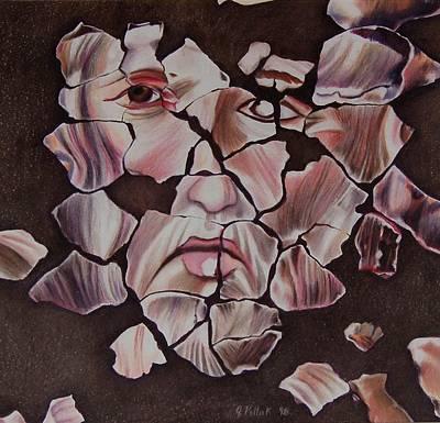 Mosaic Art Print by Joan Pollak