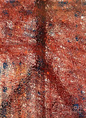 Mosaic Peace Art Print by Robert Haigh