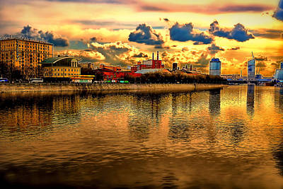 Moscows Gold Art Print