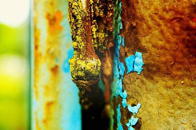 Moss And Rust II Art Print by Toni Hopper