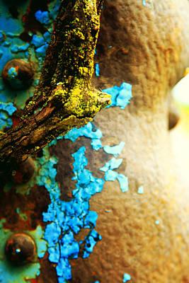 Moss And Rust Vii Art Print