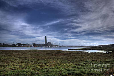 Photograph - Moss Landing Landscape by Morgan Wright