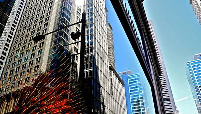 Photograph - Mostly Reflections In Sydney by Kirsten Giving