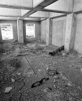 Motel Interior Area 5 Original by Jan W Faul