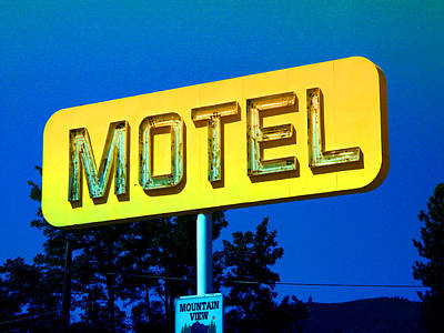 Photograph - Motel by Kathleen Grace