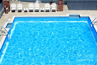 Photograph - Motel Pool by Susan Stevenson