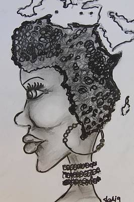 Mother Africa Art Print