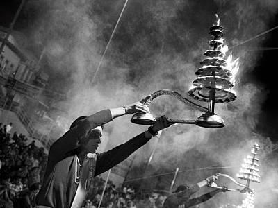 Varanasi Photograph - Mother Ganga by Nina Papiorek