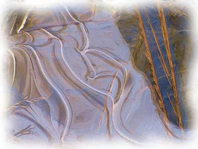 Mother Nature Does Ice Art Print by Feva  Fotos
