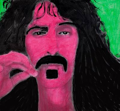 Frank Zappa Painting - Mother Of Invention by Frank Strasser