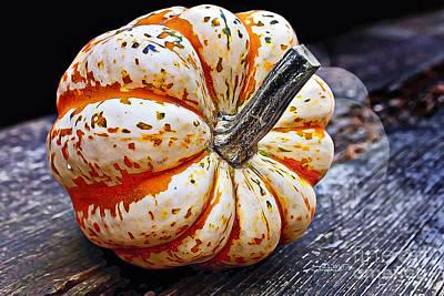 Photograph - Mother Pumpkin by Jutta Maria Pusl