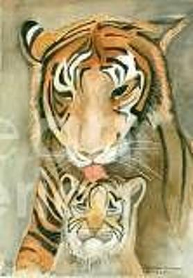 Painting - Mother's Love by Delores Swanson