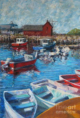 Motif 1 Painting - Motif No One Rockport by B Rossitto