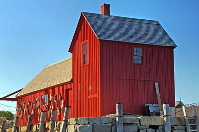 New England Photograph - Motif No.1 by Joann Vitali
